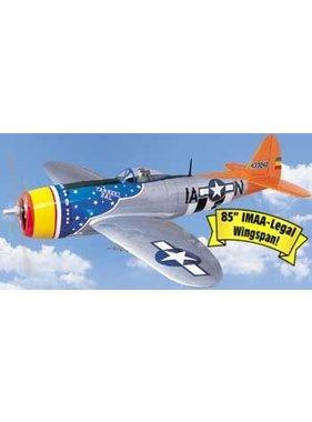 TOPFLITE TOP FLITE P-47D THUNDERBOLT 1/5 SCALE 2.1-2.8 SIZE 2.16MT WINGSPAN