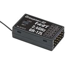 Graupner HOTT GR-12L 6 Channel Receiver  2.4 ghz 35