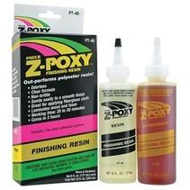 PACER Z POXY FINISHING RESIN 2 X 6OZ ( 177 ml ) 354ml total