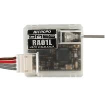 JR DMSS RA01L Remote Receiver, Short Range Telemetry, Carbon Friendly
