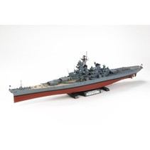 TAMIYA U.S BATTLESHIP BB-63 MISSOURI 1/350TH SCALE WITH PHOTO ETCHED PARTS