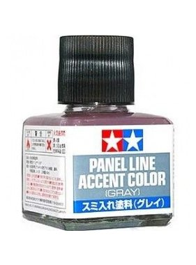 TAMIYA TAMIYA PANEL LINE ACCENT COLOR GRAY 87133