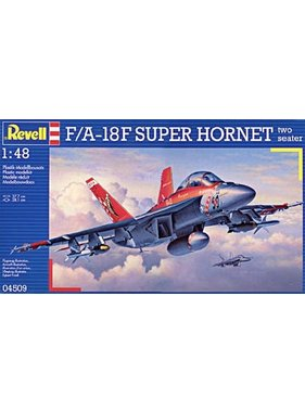 REVELL REVELL F/A-8F SUPER HORNET TWO SEATER 1/48 04509