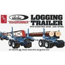AMT LOGGING TRAILER ''ROAD RUNNER'' WITH STRUCTURAL BEAM LOAD OPTION