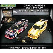 SCALEXTRIC CRAIG LOWNDES 100 ATCC/V8 SUPERCAR RACE WINS