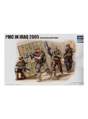 TRUMPETER TRUMPETER 1/35 PMC IN IRAQ 2005 ARMED ASSAULT TEAM