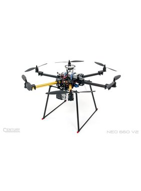 CENTURY MULTIROTOR CENTURY UAV NEO 660 V2 ARF + Dji NAZA-M LITE GPS<br />