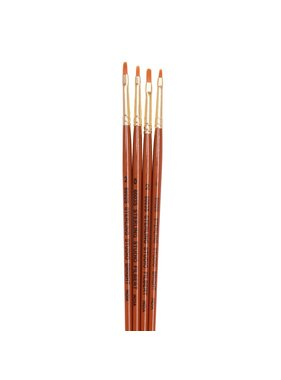 STERLING STUDIO SS-116 STERLING STUDIO 4PCS SYNTHETIC BRUSH SET DETAIL 4 ROUND 3/0, 0 BRIGHT 3/0, 5/0