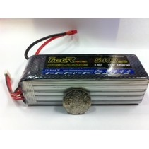 TIGER POWER LIPO 45C 18.5v 5400mah 49x42x143mm  659gr FITTED WITH XT60 PLUG
