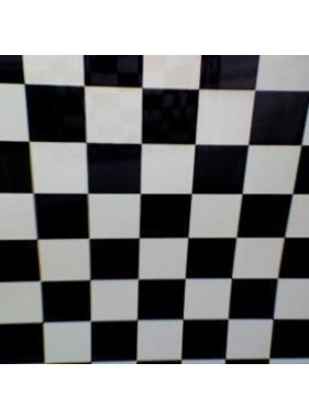 HY MODEL ACCESSORIES HY COVERING CHECKERS BLACK &amp; WHITE  638MM  2MT ( 30mm squares )<br />