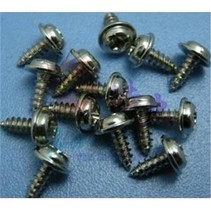 HY SELF TAPPING SCREW WITH WASHER 3 x 8mm ( 100 PK )<br />