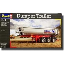 REVELL DUMPER TRAILER 1/24