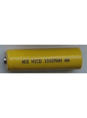 CHENNER BATTERIES ACE NICD  1000MAH AA SINGLE CELL