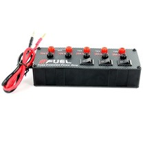 E-FUEL FUSE PROTECTED POWER STRIP 2 @ 40 AMP SHARED  + 3 @ 10 AMP EACH