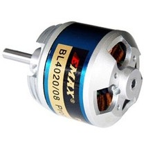 EMAX OUTRUNNER MOTOR BL4020/08 522KV SUITS 5-6 LIPO 60AMP 12 X 8 TO 3 X 8 PROP