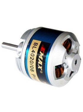 EMAX EMAX OUTRUNNER MOTOR BL4020/08 522KV SUITS 5-6 LIPO 60AMP 12 X 8 TO 3 X 8 PROP