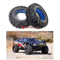 """PROLINE """"TRENCHER"""" FRONT TIRE  SET FOR BAJA 5T no foam inserts"""