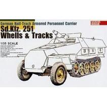 AFV Sd.Kfz 251 TRACK & WHEELS