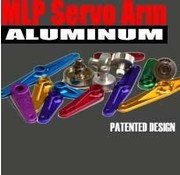 AIR WILD HOBBIES AIR WILD HOBBIES Alum Servo Arm Half Mult 1