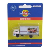ATHEARN N GAUGE 50 STATES TRUCK USPS DELIVERY VAN MASSACHESETTS 10321