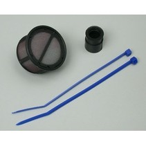 MOTOR SAVER 1/10TH ON OR OFFROAD AIR FILTER KIT WITH STRAIGHT BASE