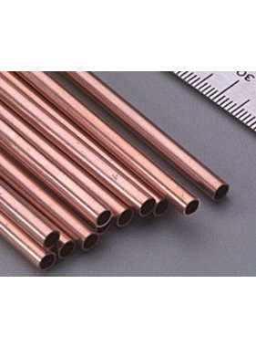 K&S K & S COPPER TUBE 12in 5/32 3.97mm  (1PC) KSE 0119