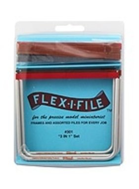 FLEX-I-FILE FLEX-I-FILE 3 IN 1 SET 3 FRAMES AND 13 ASSORTED TAPES