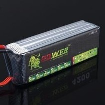 LION POWER LIPO 30C 11.1V 3500mAh READ SAFETY WARNING BEFORE USE 43.2x137.4x20.5mm 260g SOLD WITH XT60 PLUG