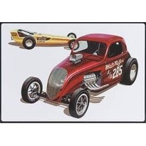 AMT DOUBLE DRAGSTER DRAG TEAM SPECIAL EDITION 3 IN 1 IN TIN BOX