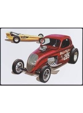 AMT AMT DOUBLE DRAGSTER DRAG TEAM SPECIAL EDITION 3 IN 1 IN TIN BOX