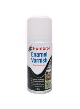 HUMBROL HUMBROL ENAMEL VARNISH GLOSS SPRAY CAN 150ML