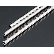 K & S METRIC ALUMINIUM TUBE 4mm X .45MM  300MM LONG