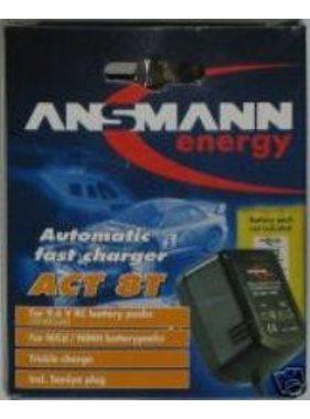 ANSMANN ANSMANN ENERGY AUTOMATIC FAST CHARGER ACT 8T 240V FOR 9.6V BATTERY PACKS