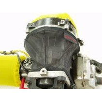 OUTERWEARS 1/5TH SCALE FLYWHEEL/CRANKCASE COVER YELLOW