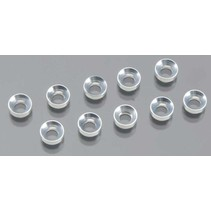 INTEGY 3MM ALLOY CONCAVE WASHER (10)