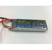 LION POWER - TIGER POWER LIPOS TIGER POWER LIPO 45c 7.4v 2200mah 18x34x110mm  124gr SOLD WITH DEANS CONNECTOR