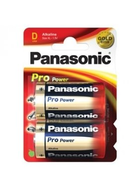 PANASONIC PANASONIC 1.5V D CELL 2 PACK