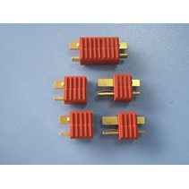 HY T PLUG WITH FULL GRIP U/GOLD PLUG M &amp; F ( 4 PAIRS  )<br />