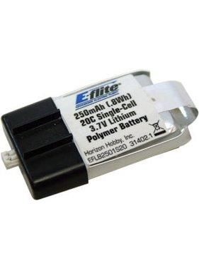 EFLITE E-FLIGHT 250MAH 20C 3.7V LIPO