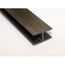 HY CARBON FIBER H BAR 13 X 8 X 1MM<br />