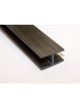 HY MODEL ACCESSORIES HY CARBON FIBER H BAR 13 X 8 X 1MM<br />