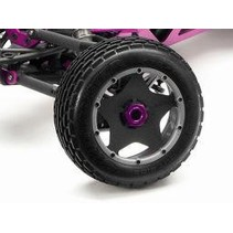 HPI BAJA DIRT BUSTER FRONT TIRE MOUNTED ON RIMS