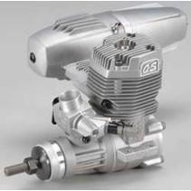 OS MAX 55AX ENGINE WITH E-3071 MUFFLER