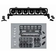 """RPM RPM ROOF MOUNTED LIGHT BAR SET BLACK FITS ANY VEHICLE WITH A MIN 6"""" WIDE ROOF"""