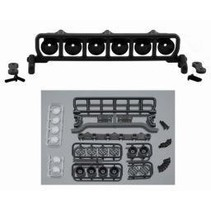 """RPM ROOF MOUNTED LIGHT BAR SET BLACK FITS ANY VEHICLE WITH A MIN 6"""" WIDE ROOF"""