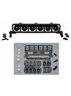 "RPM RPM ROOF MOUNTED LIGHT BAR SET BLACK FITS ANY VEHICLE WITH A MIN 6"" WIDE ROOF"