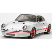 """TAMIYA XB 1/10 PORSCHE CARRERA 911 """"WHITE EDITION\020""""  4WD ON ROAD CAR\015( REQUIRES 7.2V BATTERY CHARGER & 4 AAS )"""
