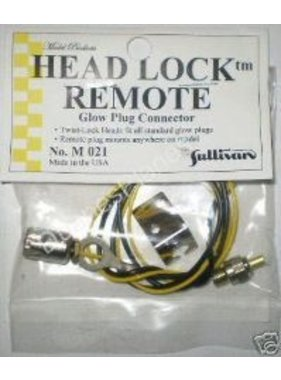 SULLIVAN SULLIVAN HEAD LOCK REMOTE GLOW PLUG CONNECTOR