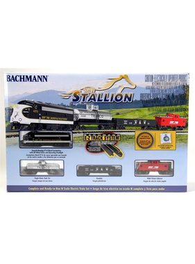 BACHMANN BACHMANN THE STALLION N GAUGE TRAIN SET