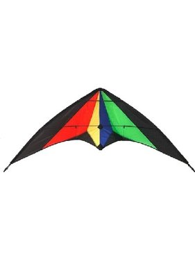 HAAK HIGH AS A KITE HAAK TRICKET DUAL STRING STUNT KITE<br />Size: 150cm Wingspan<br />Material: 210T Ripstop Nylon<br />Frame: 4mm fibreglass tube<br />Wind speed: 10 - 25kph<br />Line: Comes with line 2 x 30m